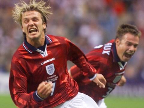 David Beckham remains proud England stalwart until the end