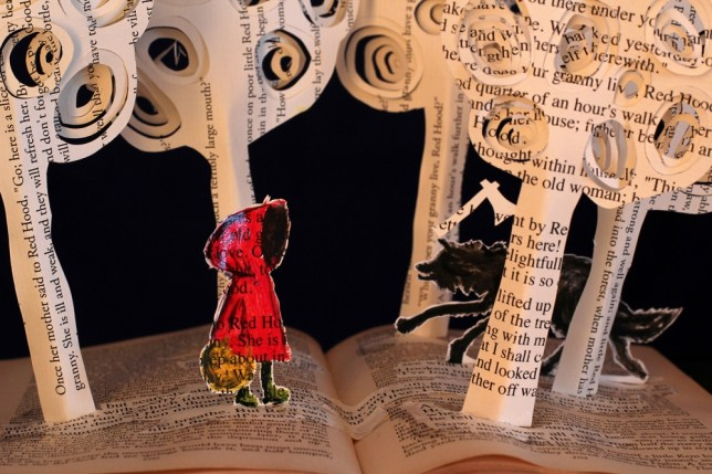 Book artist makes action leap off the page