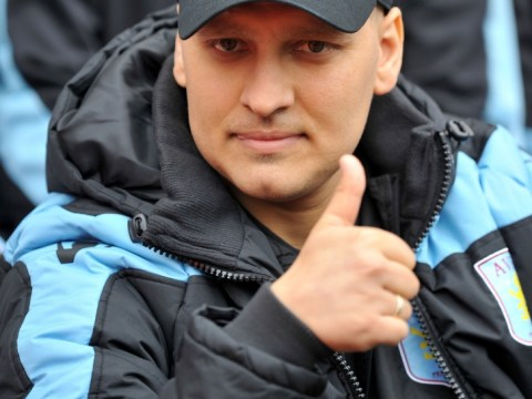 Aston Villa supporters pay tribute to retiring star Stiliyan Petrov on 'Petrov Day'