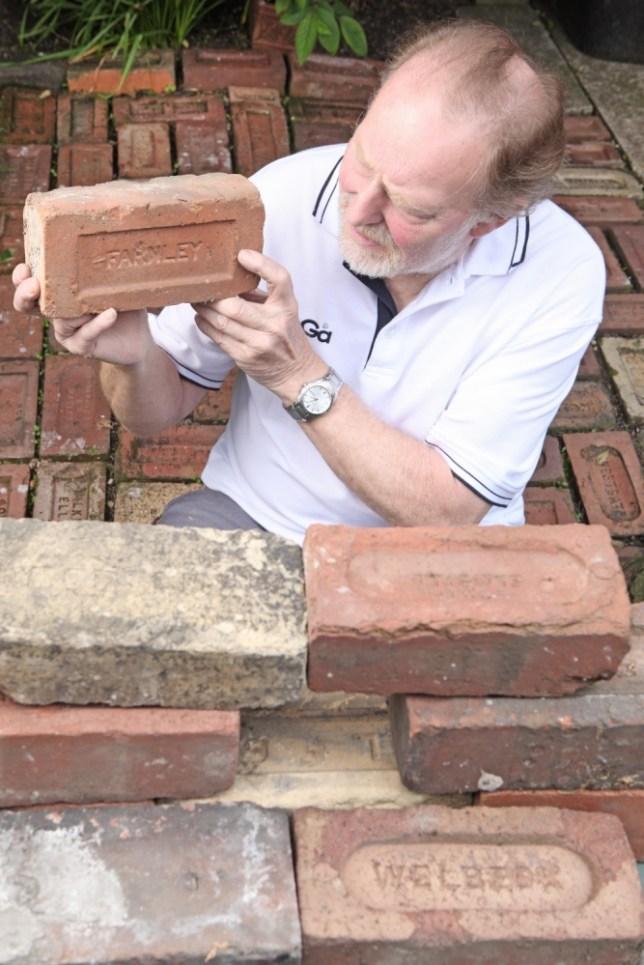 Neil Brittlebank: Meet the man who collects rare bricks