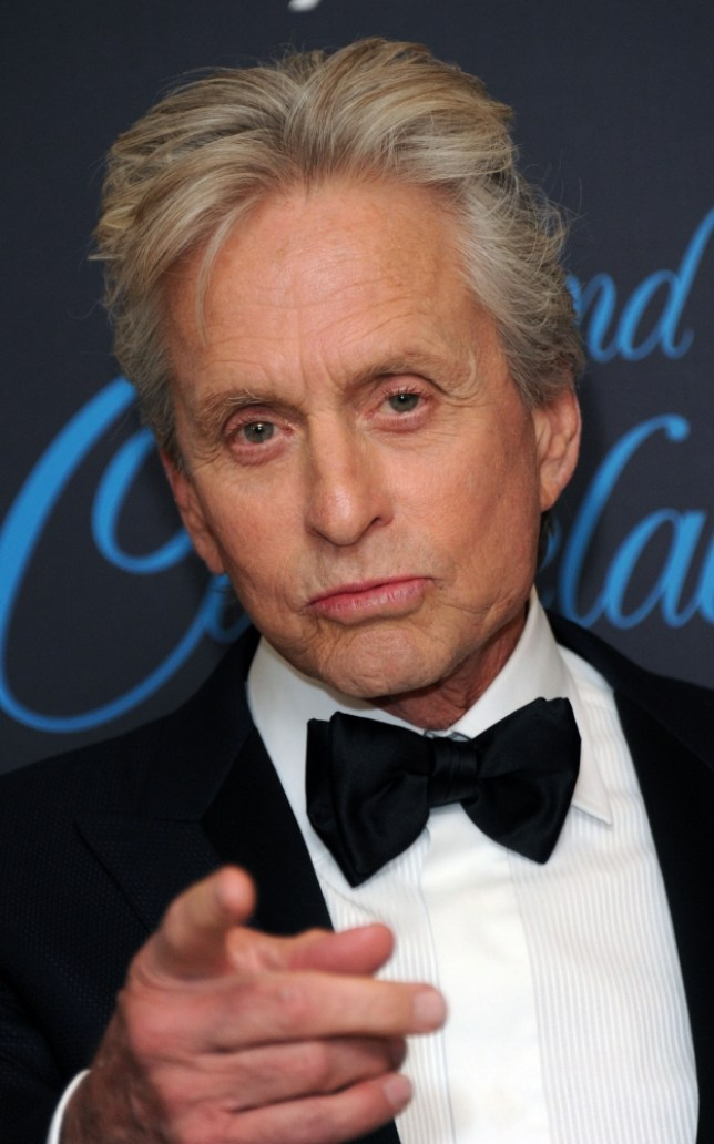 Michael Douglas has a new film coming out, Behind The Candelabra (Picture: Stuart C. Wilson/Getty Images)