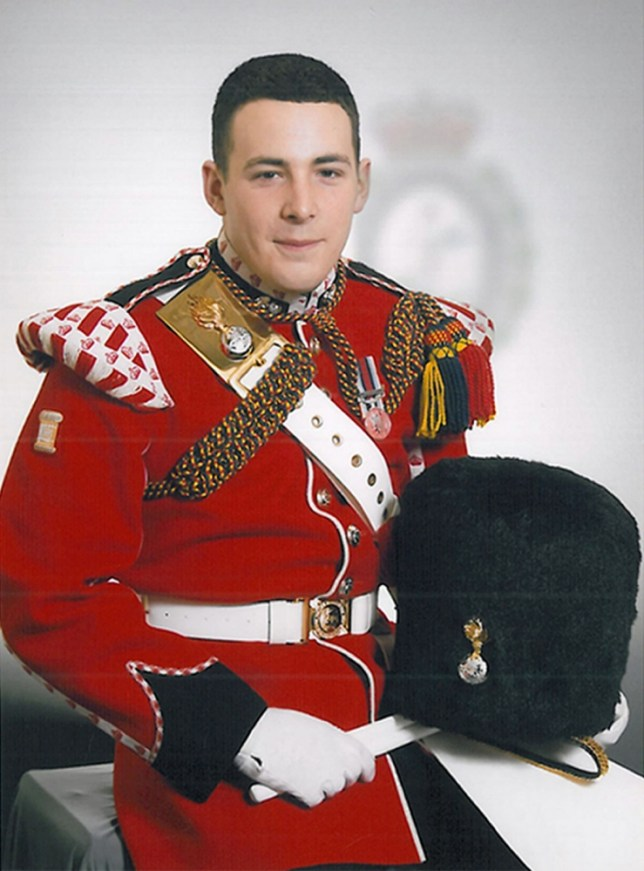 Ministry of Defence undated handout photo of Drummer Lee Rigby, 25, from the 2nd Battalion, Royal Regiment of Fusiliers who was named today as the soldier hacked to death in Woolwich yesterday. PRESS ASSOCIATION Photo. Issue date: Thursday May 23, 2013. See PA story POLICE Woolwich. Photo credit should read: MoD/PA Wire NOTE TO EDITORS: This handout photo may only be used in for editorial reporting purposes for the contemporaneous illustration of events, things or the people in the image or facts mentioned in the caption. Reuse of the picture may require further permission from the copyright holder.