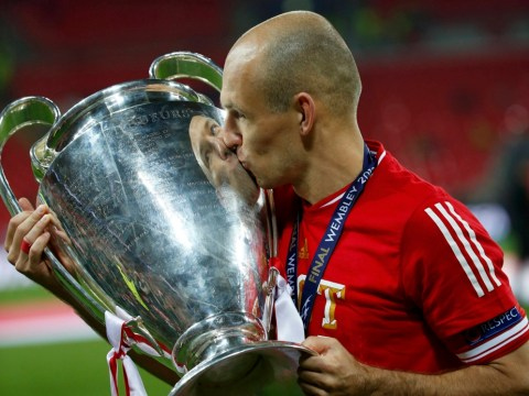 Arjen Robben: 'Whole career' went through my head as I scored Champions League winner