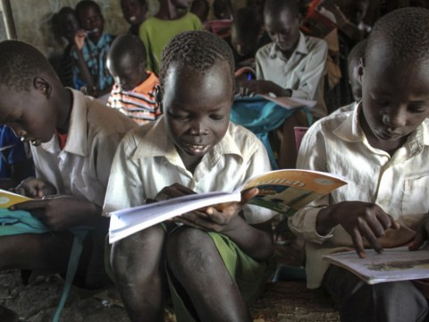 Literacy 'stunted by poor diet' as Save The Children urges G8 leaders to act