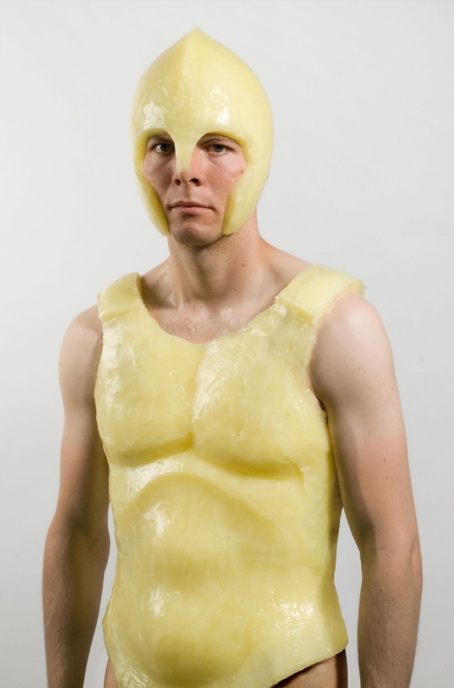 Protect yourself from the British weather with Vaseline body armour
