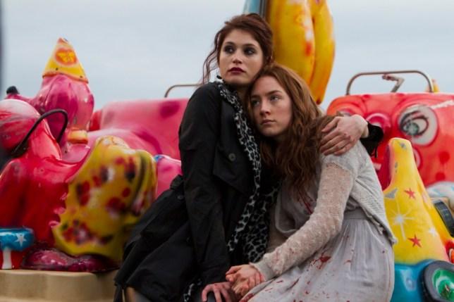 Gemma Arterton and Saoire Ronan in Byzantium (Picture: StudioCanal)