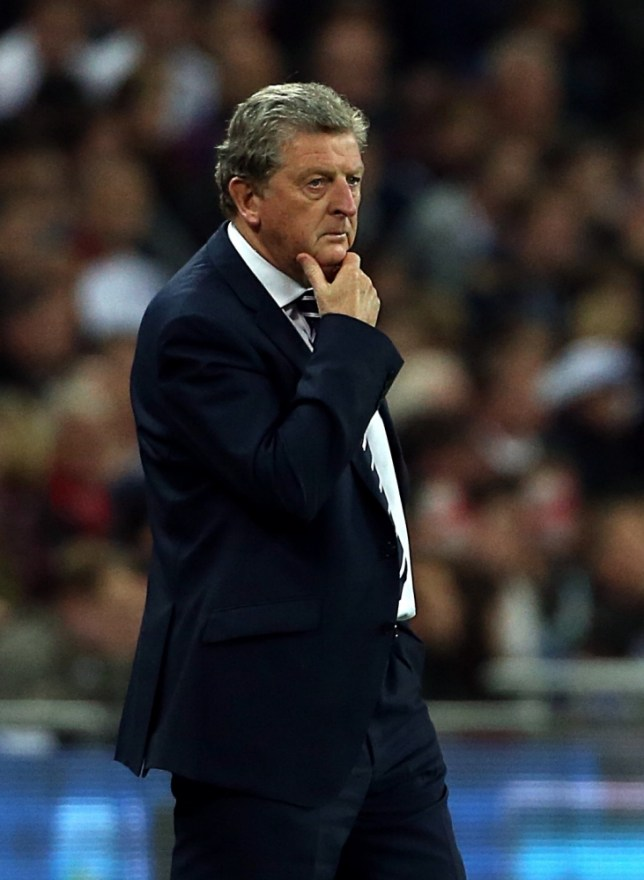 England's manager Roy Hodgson during the International Friendly match at Wembley Stadium, London. PRESS ASSOCIATION Photo. Picture date: Wednesday May 29, 2013. See PA story SOCCER England. Photo credit should read: John Walton/PA Wire. RESTRICTIONS: Use subject to FA restrictions. Editorial use only. Commercial use only with prior written consent of the FA. No editing except cropping. Call +44 (0)1158 447447 or see www.paphotos.com/info/ for full restrictions and further information.