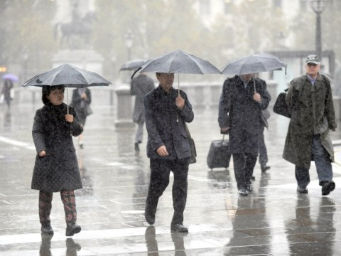 Bank holiday weather: Thunderstorms, torrential rain and hail stones the size of marbles forecast