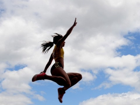 Heptathlon star Katarina Johnson-Thompson says London 2012 has prepared her for anything