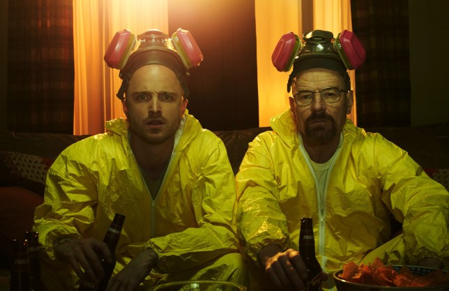 Walt and Jesse in Breaking Bad season 5