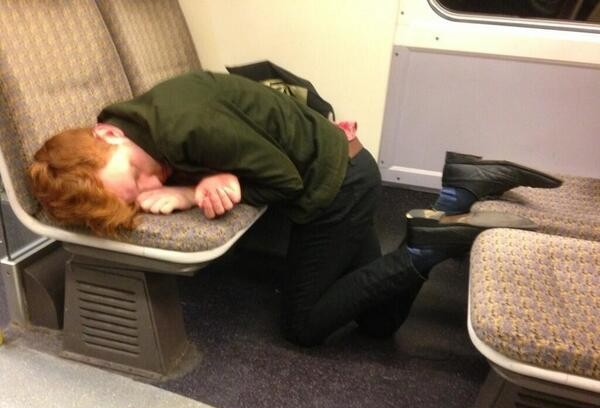 15 types of nap you see on the commute