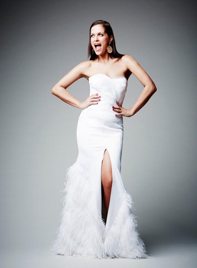DJ Lora loves to wear ballgowns (PIcture: Phillip Waterman)