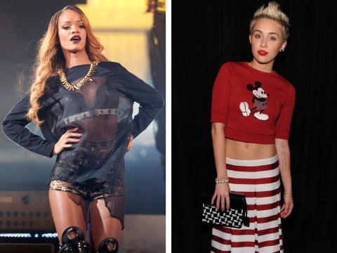 Miley Cyrus v Rihanna: Maxim's Hot 100 Face Off