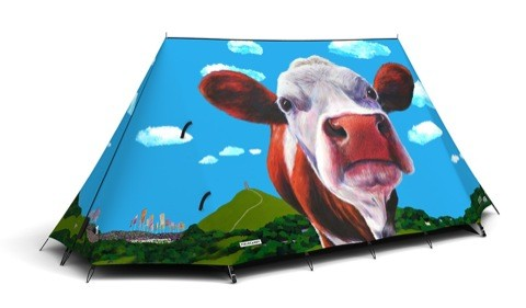 Field Candy GlastoCows tent