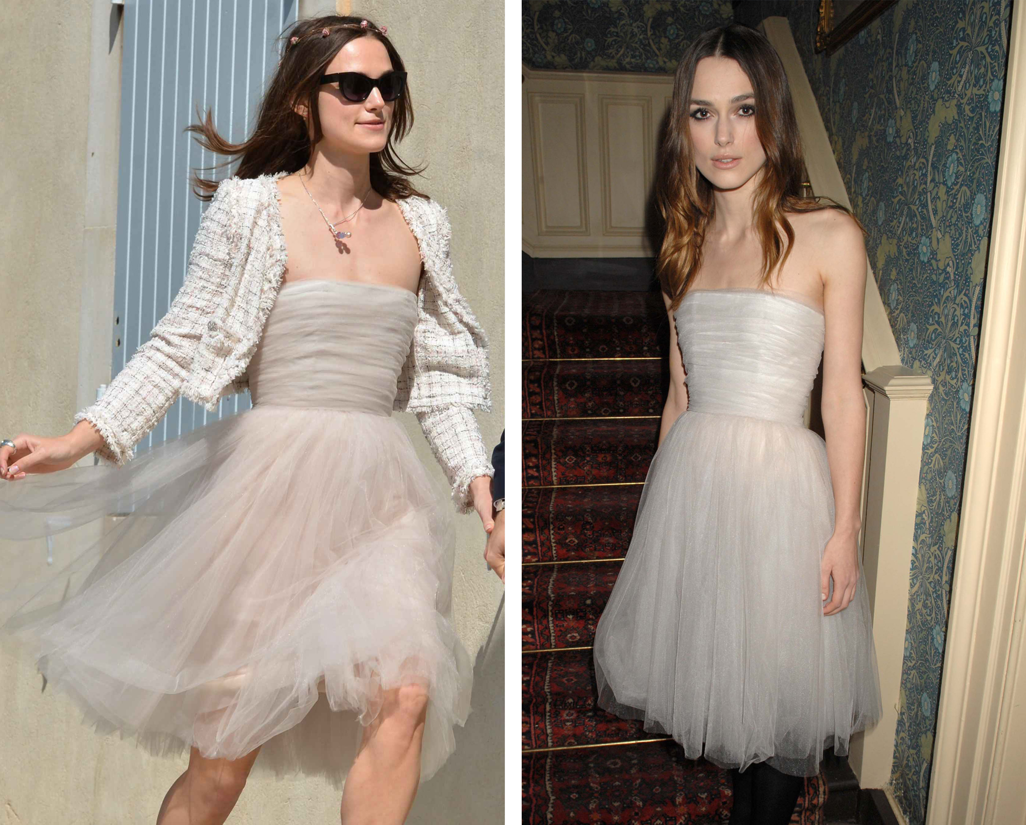 Keira Knightley marries James Righton in 'recycled' wedding dress in south of France