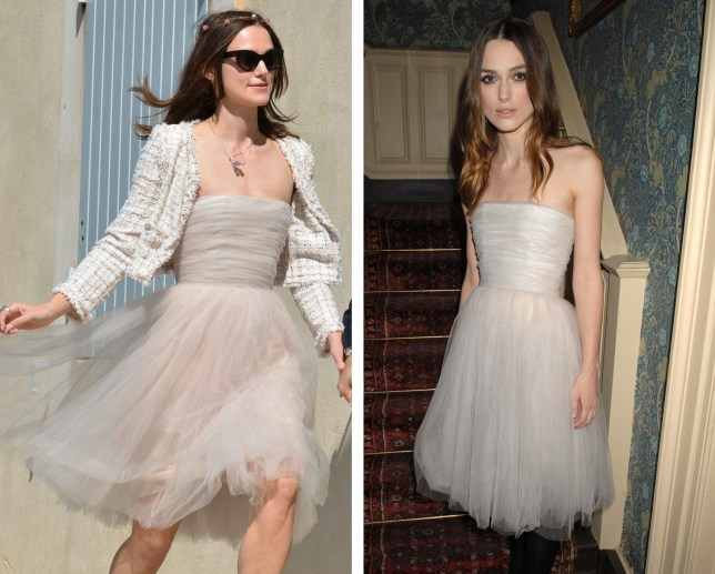 Keira Knightley marries James Righton in 'recycled' wedding