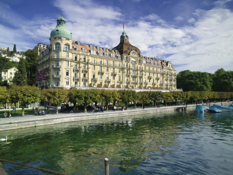 Lakefront luxury in Lucerne