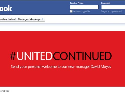 Manchester United's Facebook page jumps the gun with David Moyes announcement