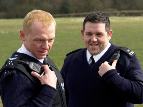 The Hot Fuzz 'swan' storyline actually became a reality for one east London police officer