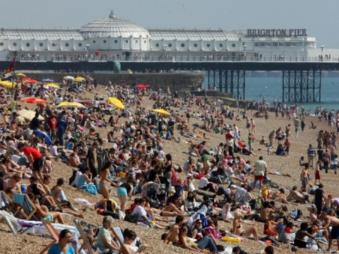 May Day sunshine as temperatures soar across England and Wales