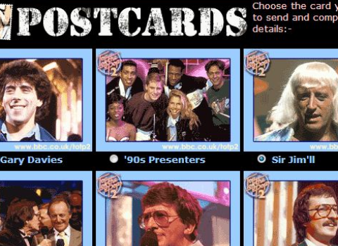 Archived BBC 'send a Jimmy Savile postcard' website emerges