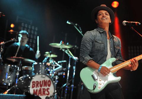 Fans praise Bruno Mars at Radio 1's Big Weekend