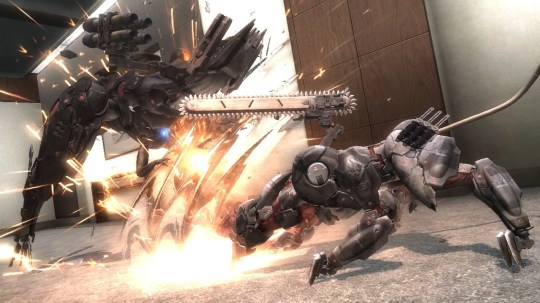 Metal Gear Rising: Blade Wolf (PS3) – don't wolf it down too quickly