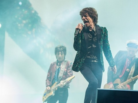 The Rolling Stones set Glastonbury Festival alight