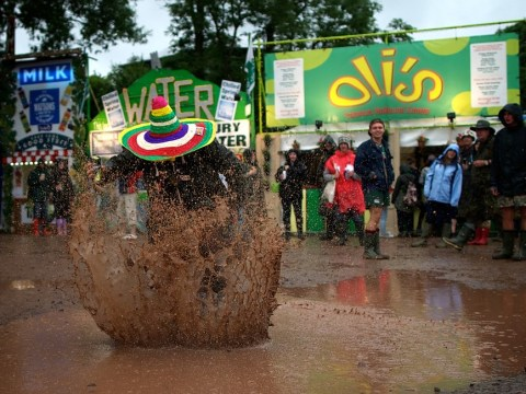9 Glastonbury revellers for whom mud is not an issue