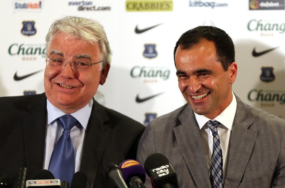 New Everton manager Roberto Martinez sets his sights on the Champions League