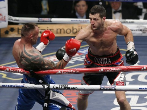Carl Froch would be perfect opponent for me, says James DeGale