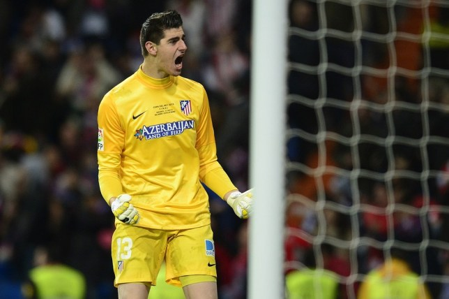 bb7401950b4 Chelsea s Thibaut Courtois extends loan spell at Atletico Madrid to third  season