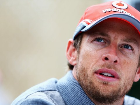 Jenson Button pays tribute to his late father on new helmet