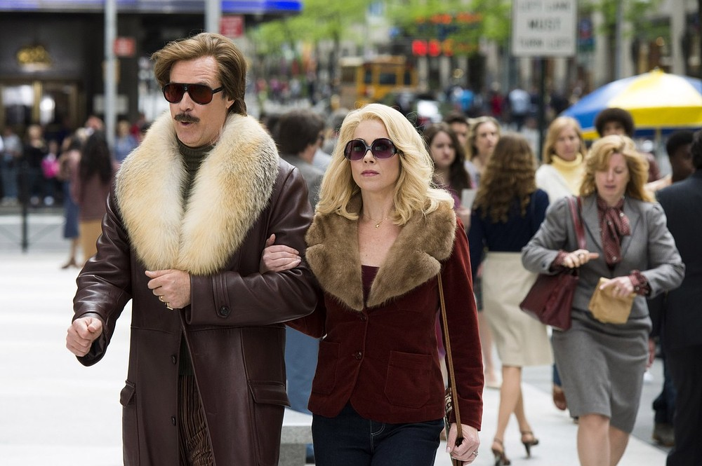 Will Ferrell and Christina Applegate reunite for Anchorman 2: The Legend Continues (Picture: AP/Paramount)