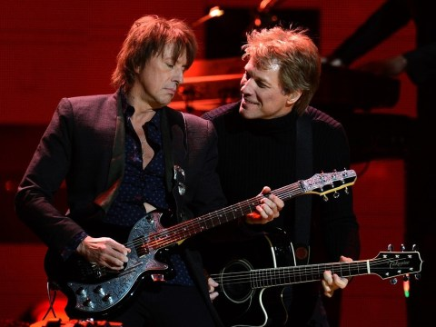 Jon Bon Jovi and Richie Sambora go together like apple pie and ice cream