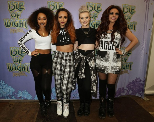 Leigh-Anne, Jade, Perrie and Jesy are gearing up to release their new album (Picture: PA)