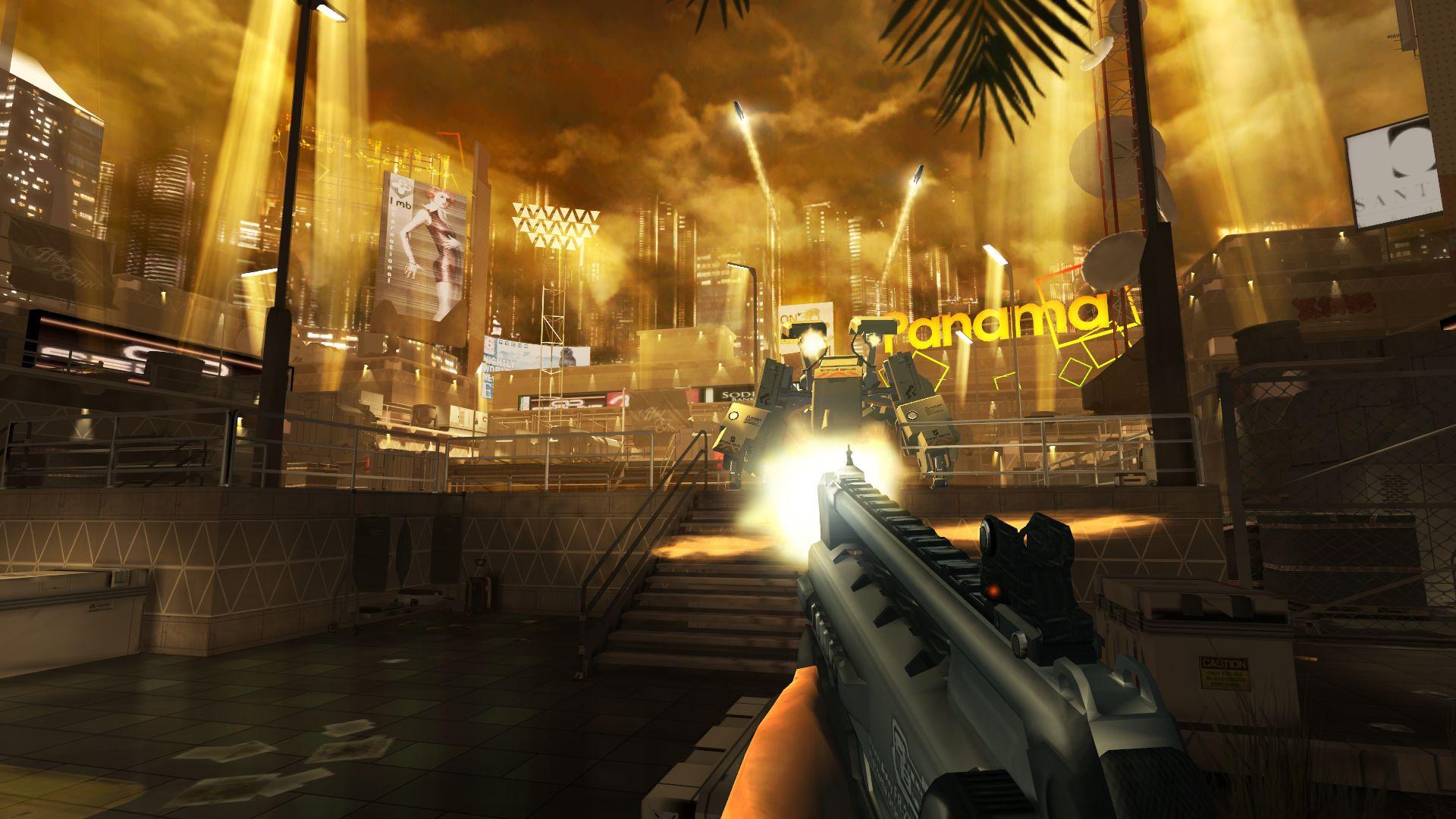 Deus Ex: The Fall - it definitely looks the part