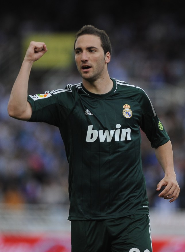 sports shoes 3fd2c 6ded8 Arsenal transfer news: Gonzalo Higuain admits interest in ...