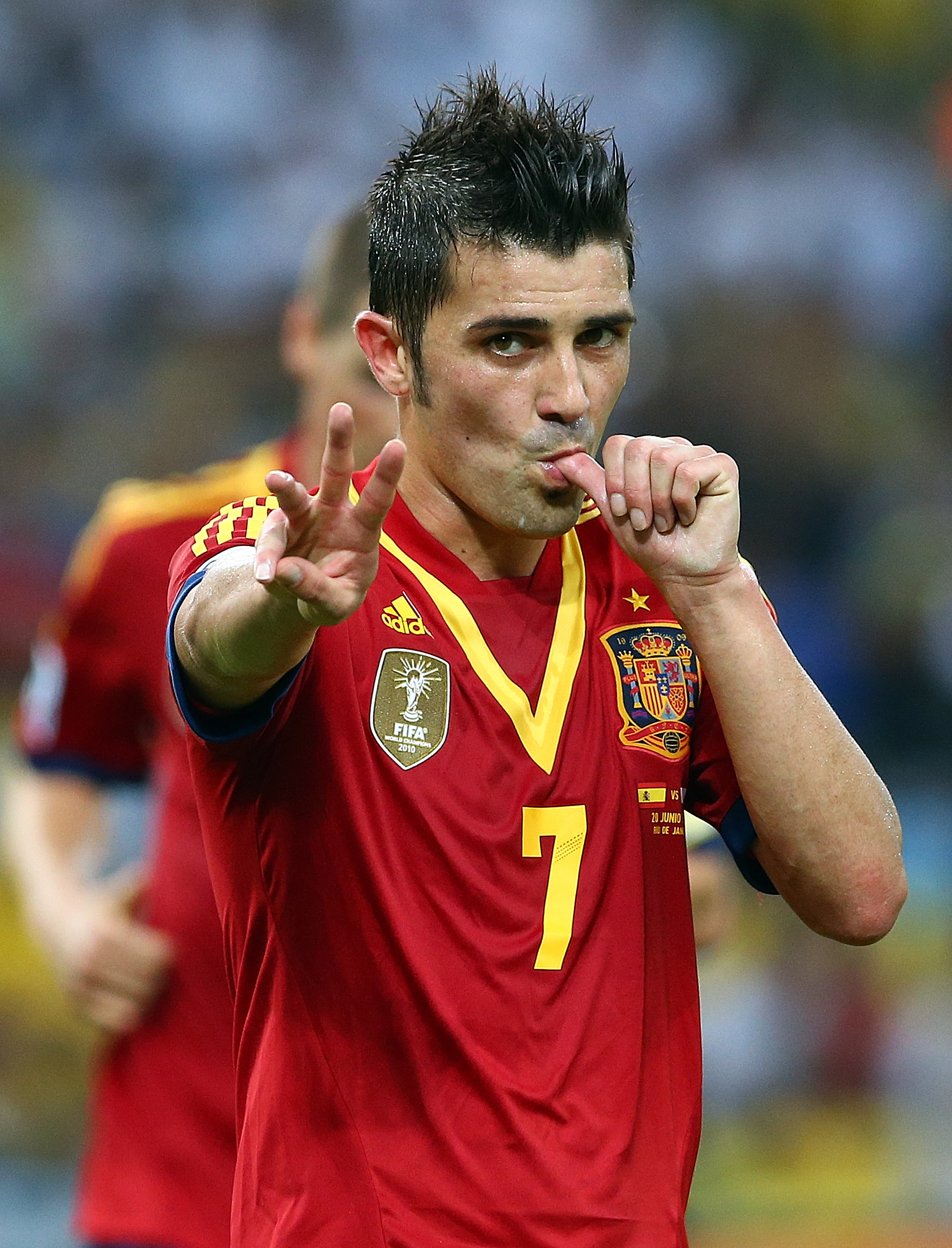 Liverpool target £8million David Villa to replace want-away Luis Suarez