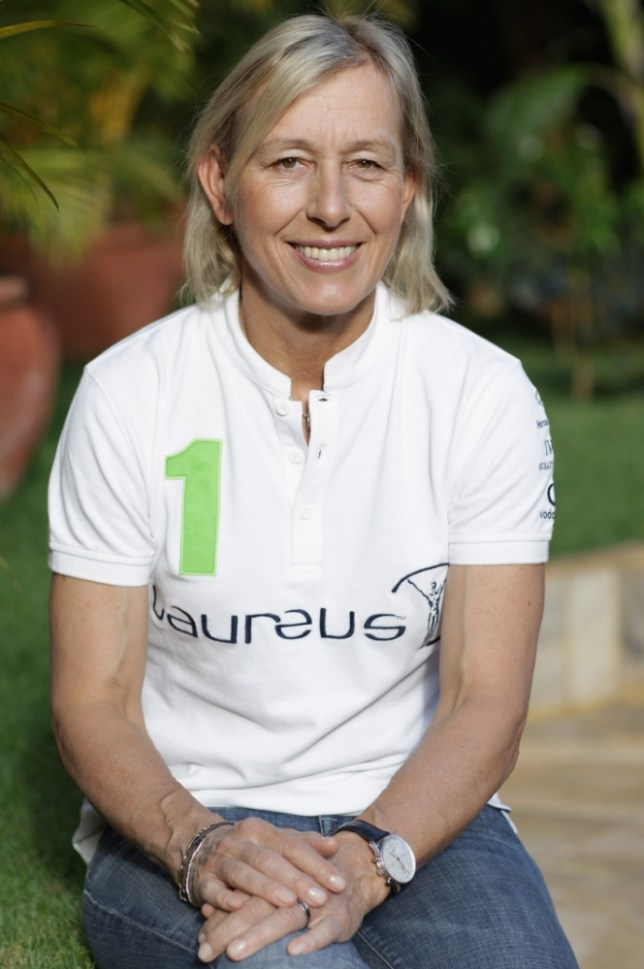 Martina Navratilova poses for a portrait at Kilimanjaro Mountain Resort on December 5, 2010 in Arusha, Tanzania. Martina Navratilova and her team will begin her Mount Kilimanjaro fundraising climb tommorow to raise money for the Laureus Sport for Good Foundation. Martina Navratilova, a member of the Laureus World Sports Academy will attempt to scale the 5895m peak, Africa's highest free standing mountain with a team of fundraisers including German Paralympic cyclist Michael Teuber and British badminton player Gail Emms.    ARUSHA, TANZANIA - DECEMBER 05:   (Photo by Chris Jackson/Getty Images for Laureus)