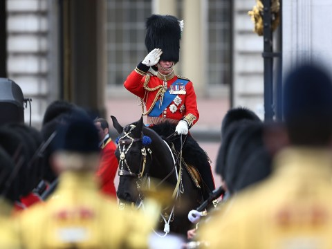 Gallery: Prince Charles at rehearsal for Trooping the Colour