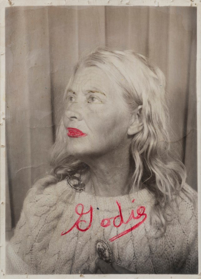 A photo-booth self portrait by the homeless artist Lee Godie (Picture: Lee Godie)