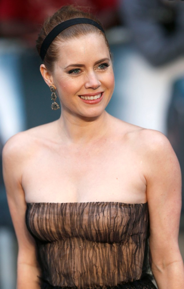 Amy Adams reckons she is a plain mere mortal. Pics: REUTERS/Eddie Keogh