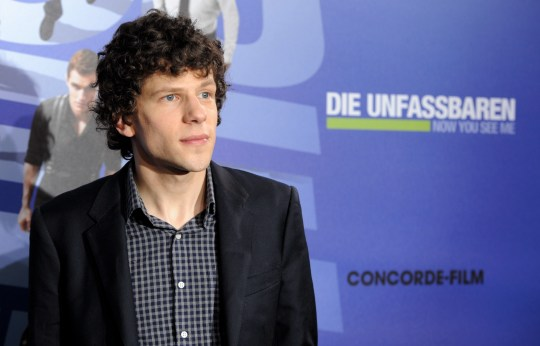 Jesse Eisenberg has been cast as Lex Luthor (Picture: EPA)