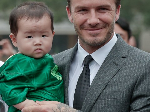 Gallery: David Beckham continues his tour of China – 22 June 2013