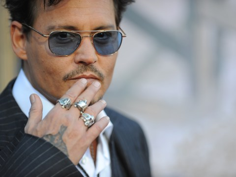 Gallery: Johnny Depp at The Lone Ranger premiere in California
