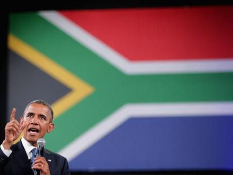 Gallery: Barack Obama in South Africa as vigils held for Nelson Mandela