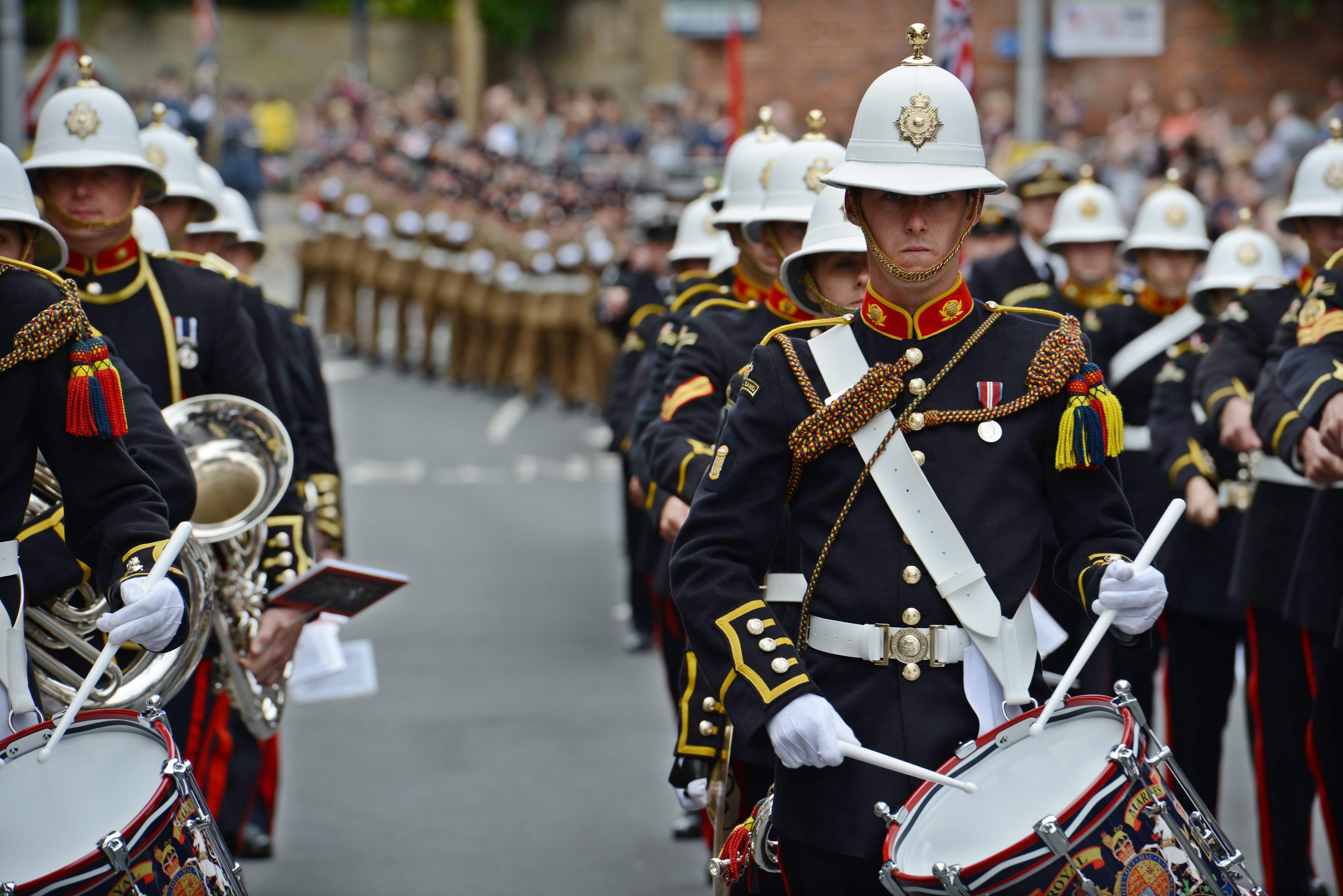 Gallery: UK marks Armed Forces Day 2013