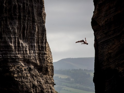 Gallery: Stunning pictures of Cliff Diving World Series in Portugal