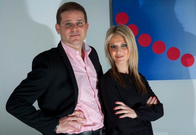 Scott Green, CEO and Corinne Sugar, Marketing Manager of needaproperty.com at their offices in Stanmore, Middlesex. Their business is competing against bigger online property search companies such as Zoopla and Rightmove. By Lucy Young 11-3-13 07799118984 lucyyounguk@gmail.com www.lucyyoungphotos.co.uk